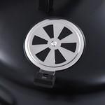 SG Houtskoolroker barbecue-grill 3-in-1 40x80 cm