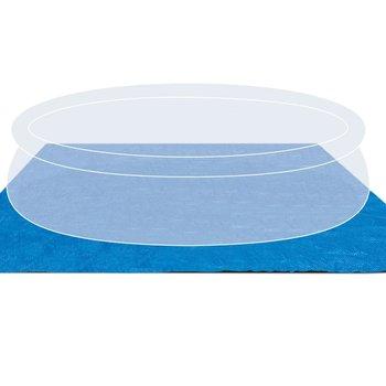 Intex Zwembad grondzeil vierkant 472x472 cm 28048