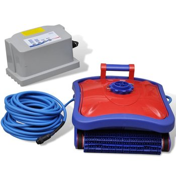 SG Zwembad robot stofzuiger (Rood/Blauw)