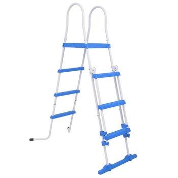 SG Zwembadladder met 3 treden voor bovengrondse zwembaden 122 cm