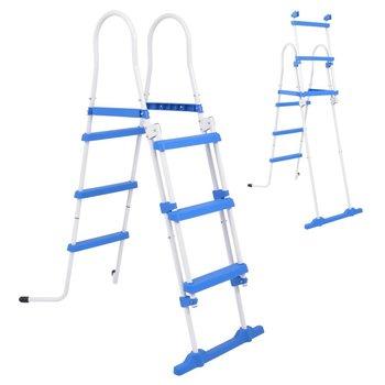 SG Zwembadladder met 3 treden voor bovengrondse zwembaden 107 cm