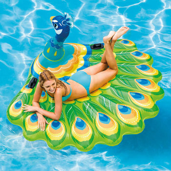 Intex Luchtbed Peacock Island 57250EU
