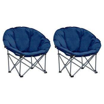 SG Maanstoelen inklapbaar 2 st blauw