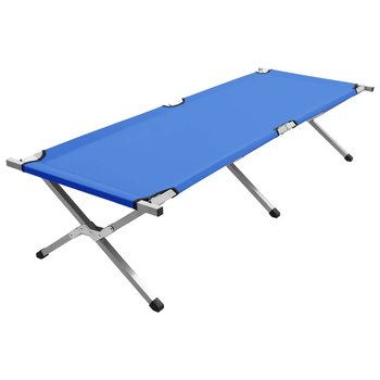 SG Kampeerbed XL 190x74x47 cm blauw