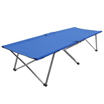SG Kampeerbed XXL 206x75x45 cm blauw