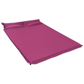 SG Luchtmatras met kussen opblaasbaar 130x190 cm roze
