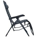 SG Ligstoel inklapbaar textileen grijs