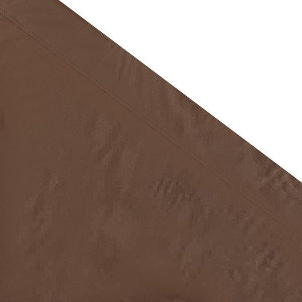SG Loungebed met luifel bruin
