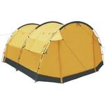 vidaXL Tunnelcampingtent 4-persoons geel