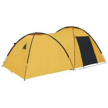 vidaXL Iglotent 4-persoons 450x240x190 cm geel