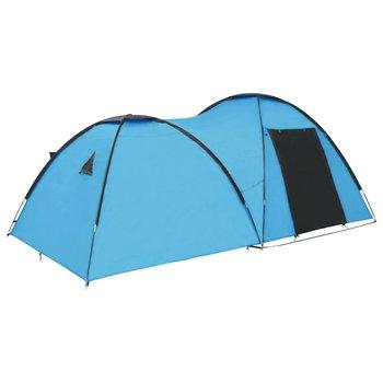 vidaXL Iglotent 4-persoons 450x240x190 cm blauw