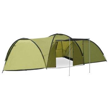 vidaXL Iglotent 8-persoons 650x240x190 cm groen