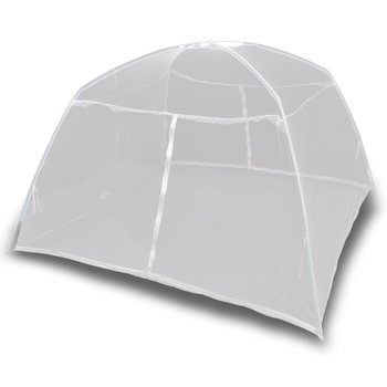 vidaXL Tent 200x120x130 cm glasvezel wit