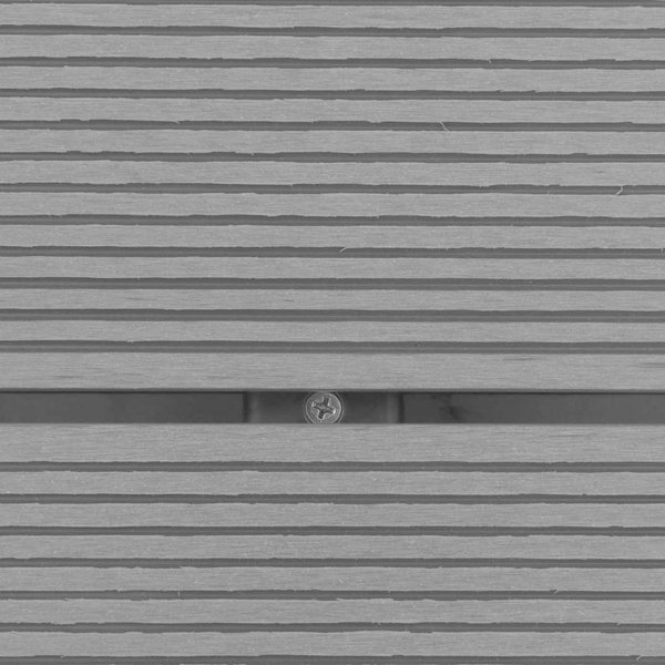 SG Buitendouche met bak HKC roestvrij staal