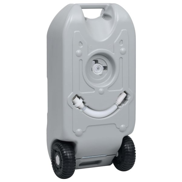 SG Watertank op wielen 40 L grijs