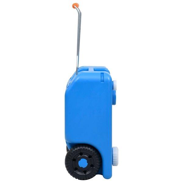 SG Watertank op wielen 25 L blauw