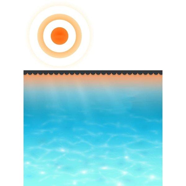 SG Zwembadhoes 356 cm PE zwart