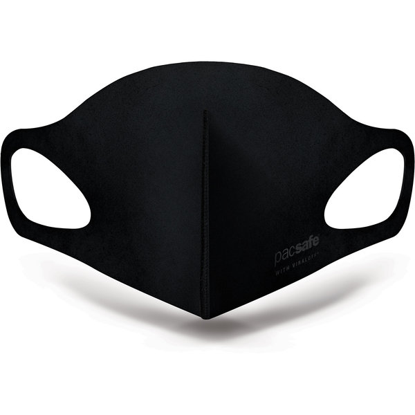 Pacsafe Viraloff facemask in black or alo grey