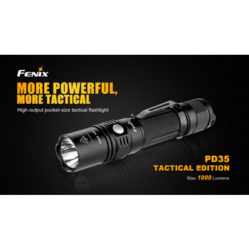 Fenix Led Zaklamp PD35 Tactical