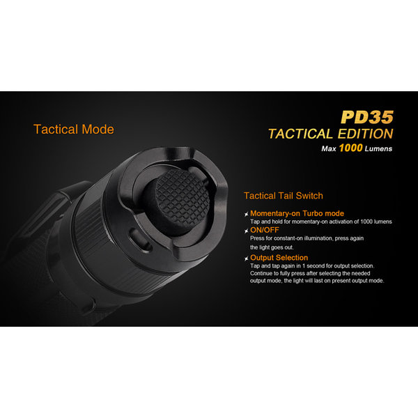 Fenix LED Flashlight PD35 - Copy