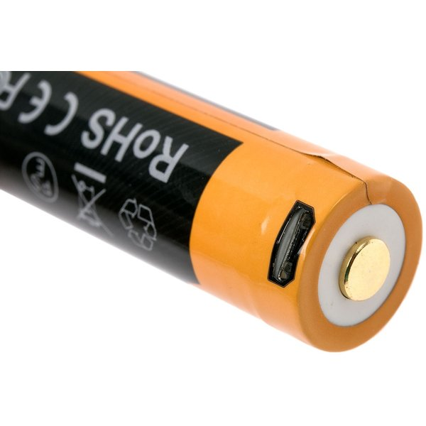 Fenix Oplaadbare Li-ion Batterij met usb