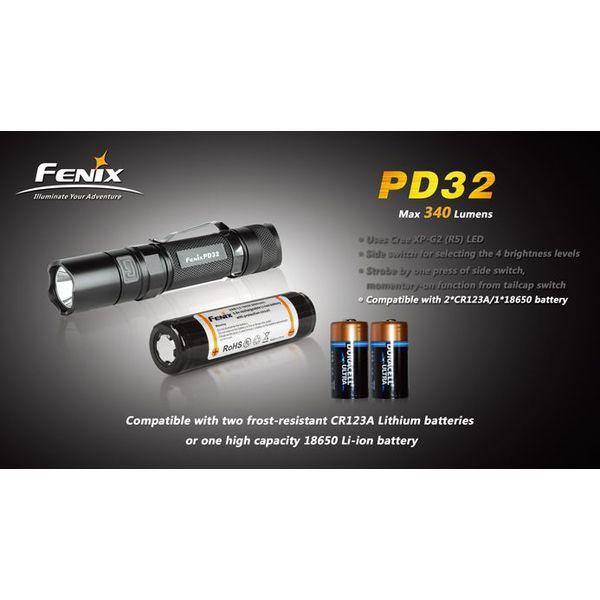 Fenix FENIX LEDFLASHLIGHT PD32