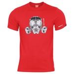 Pentagon® T-Shirt Gas Mask design
