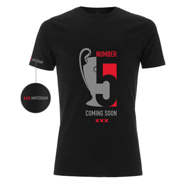 Champions League 5 Coming Soon AMS.14 T-SHIRT - Copy - Copy - Copy - Copy - Copy