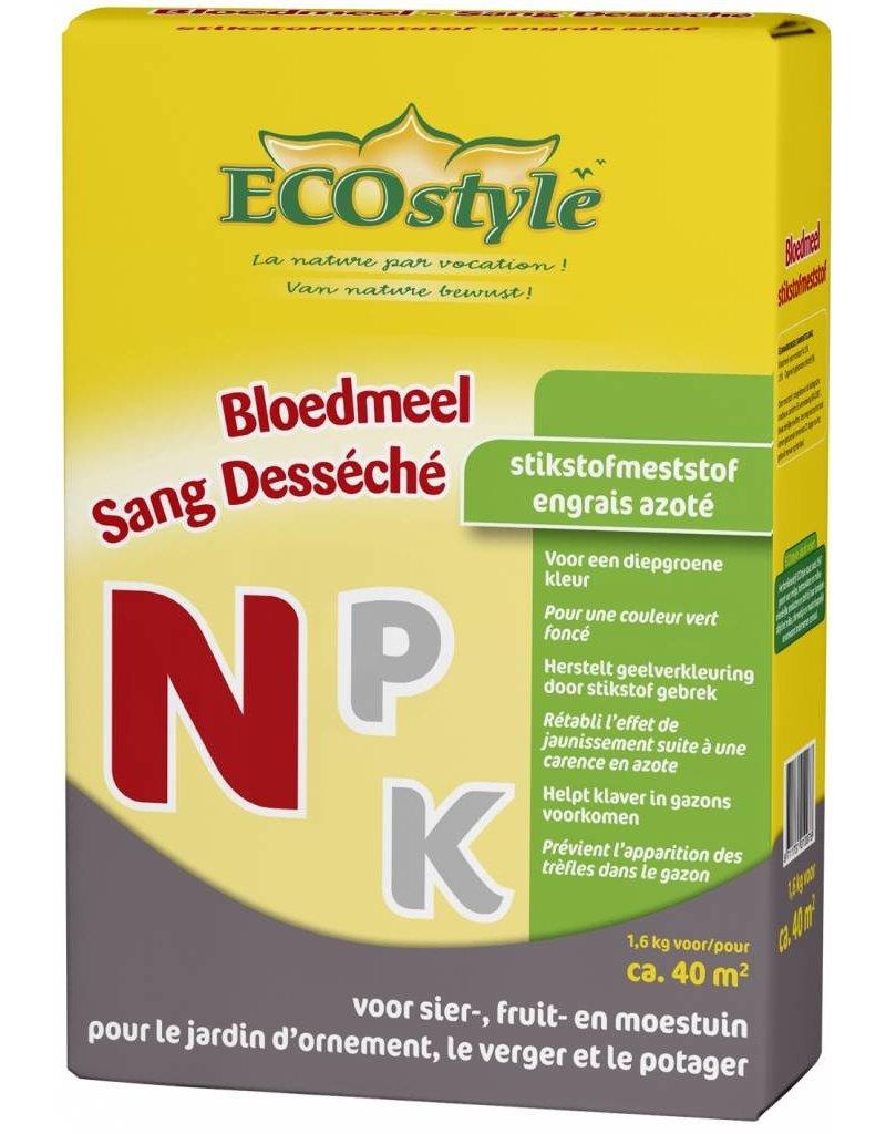 Ecostyle Bloedmeel (N) 1.6 kg (40 m²)