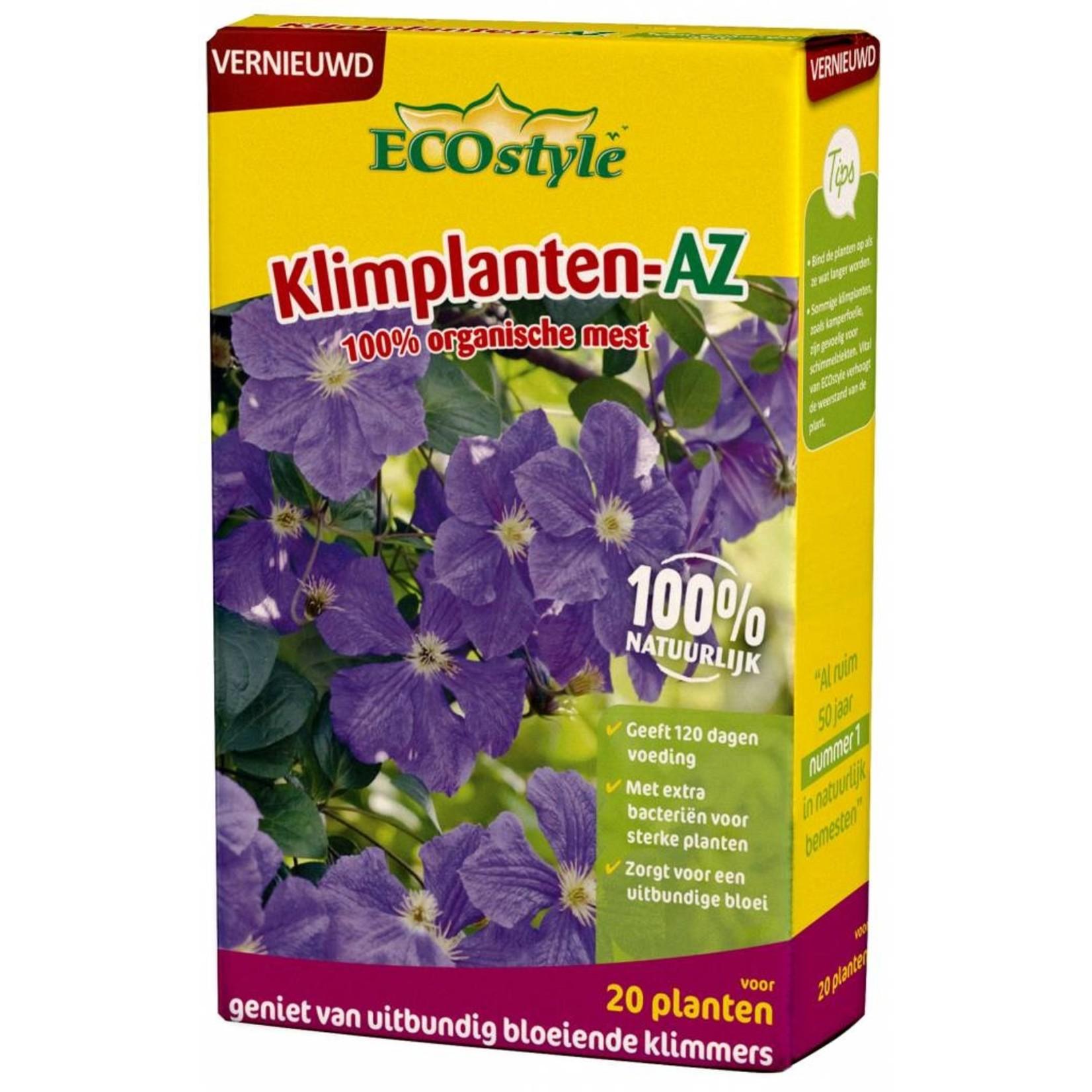 Ecostyle Klimplanten-AZ meststof 800 gram (voor ca. 20 planten)