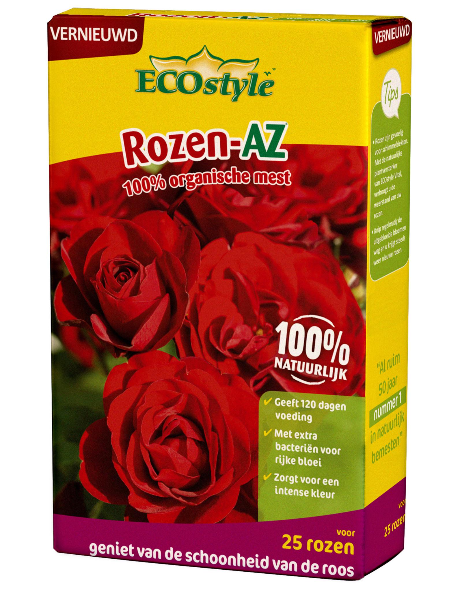 Ecostyle Rozen-AZ meststof 800 gram (voor ca. 25 planten)