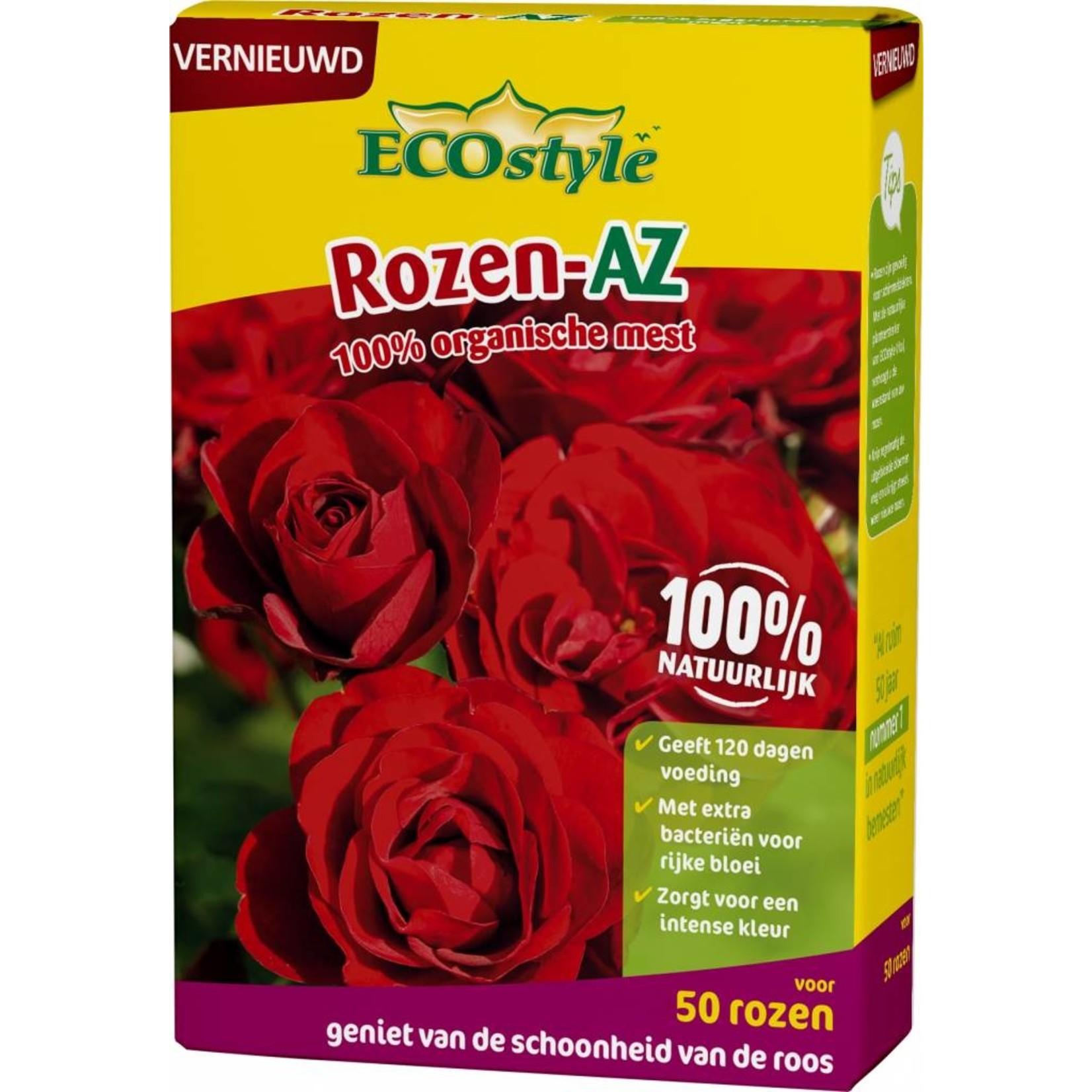 Ecostyle Rozen-AZ meststof 1,6 kg (voor ca. 50 planten)
