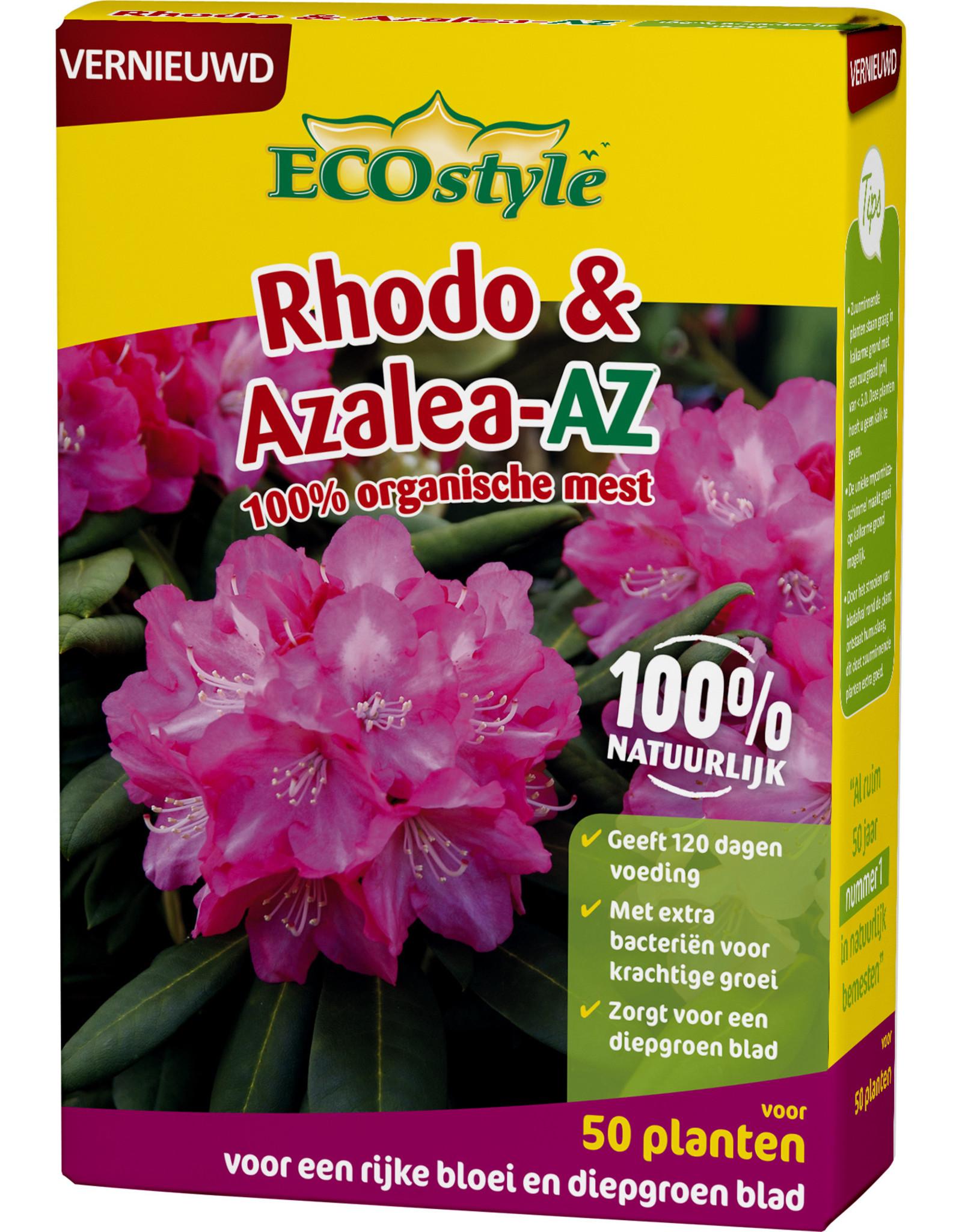Ecostyle Rhodo & Azalea meststof 1,6 kg (voor ca. 50 planten)