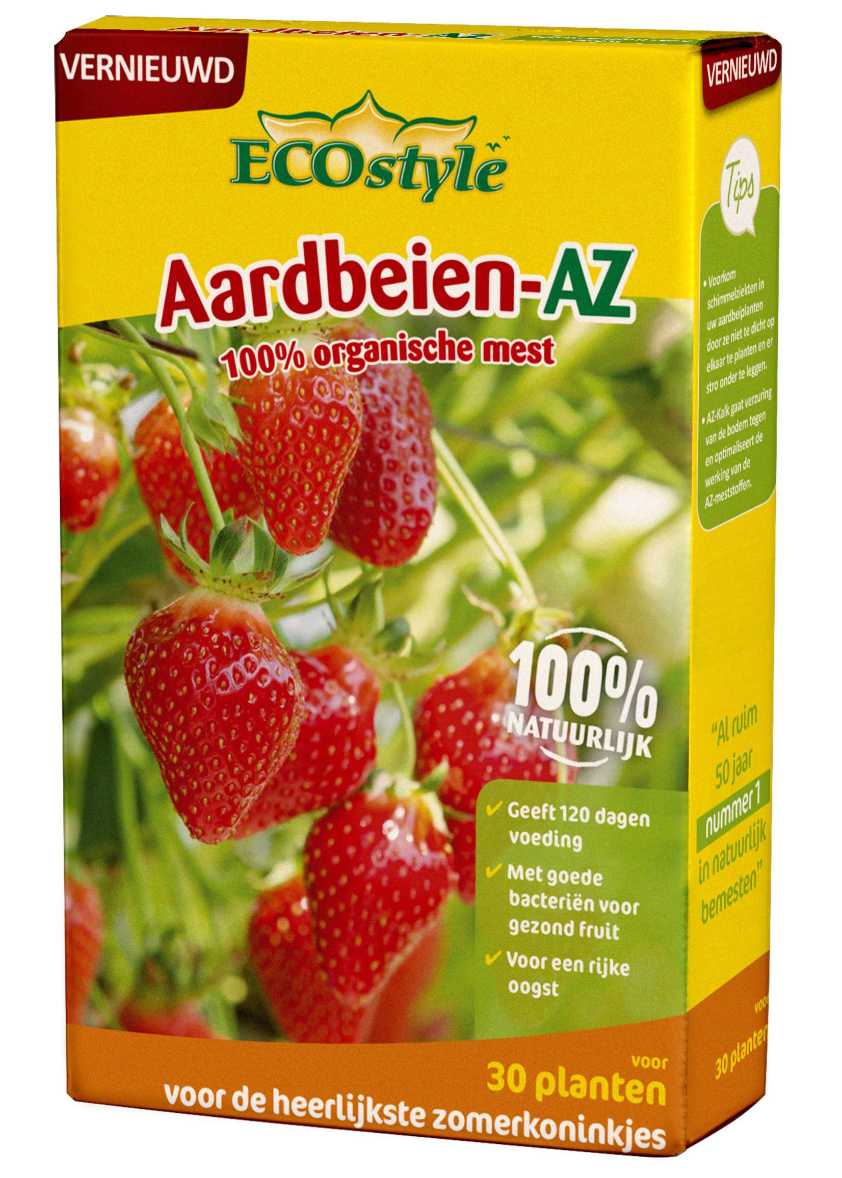 Ecostyle Aardbeien-AZ meststof 800 gram (voor ca. 30 planten)