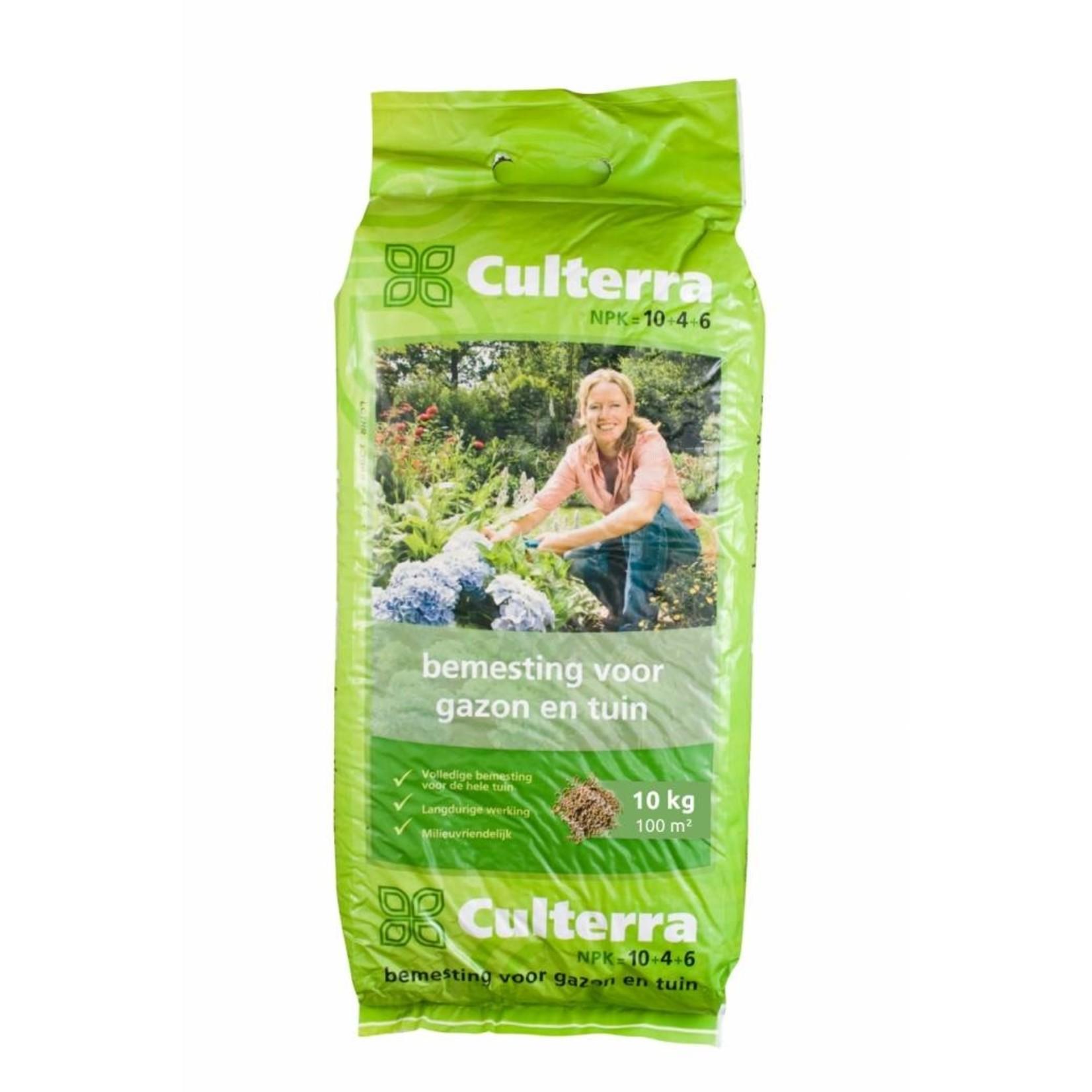 Culterra Groen 10+4+6 10 10 kg (voor ca. 100 m²)