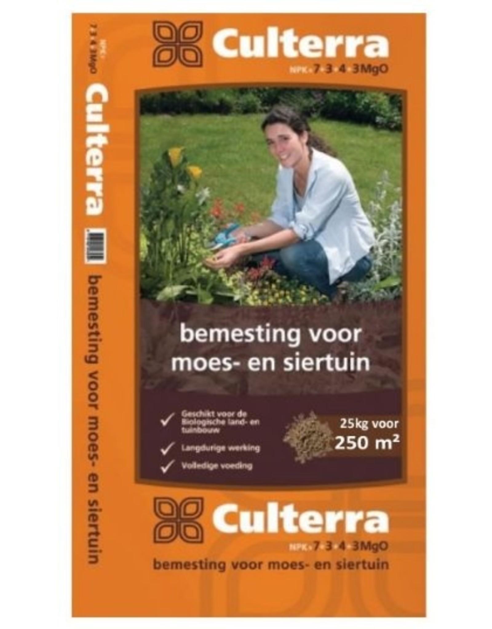 Culterra Oranje 7+3+4 (biologisch) 25 kg (voor ca. 250 m²)