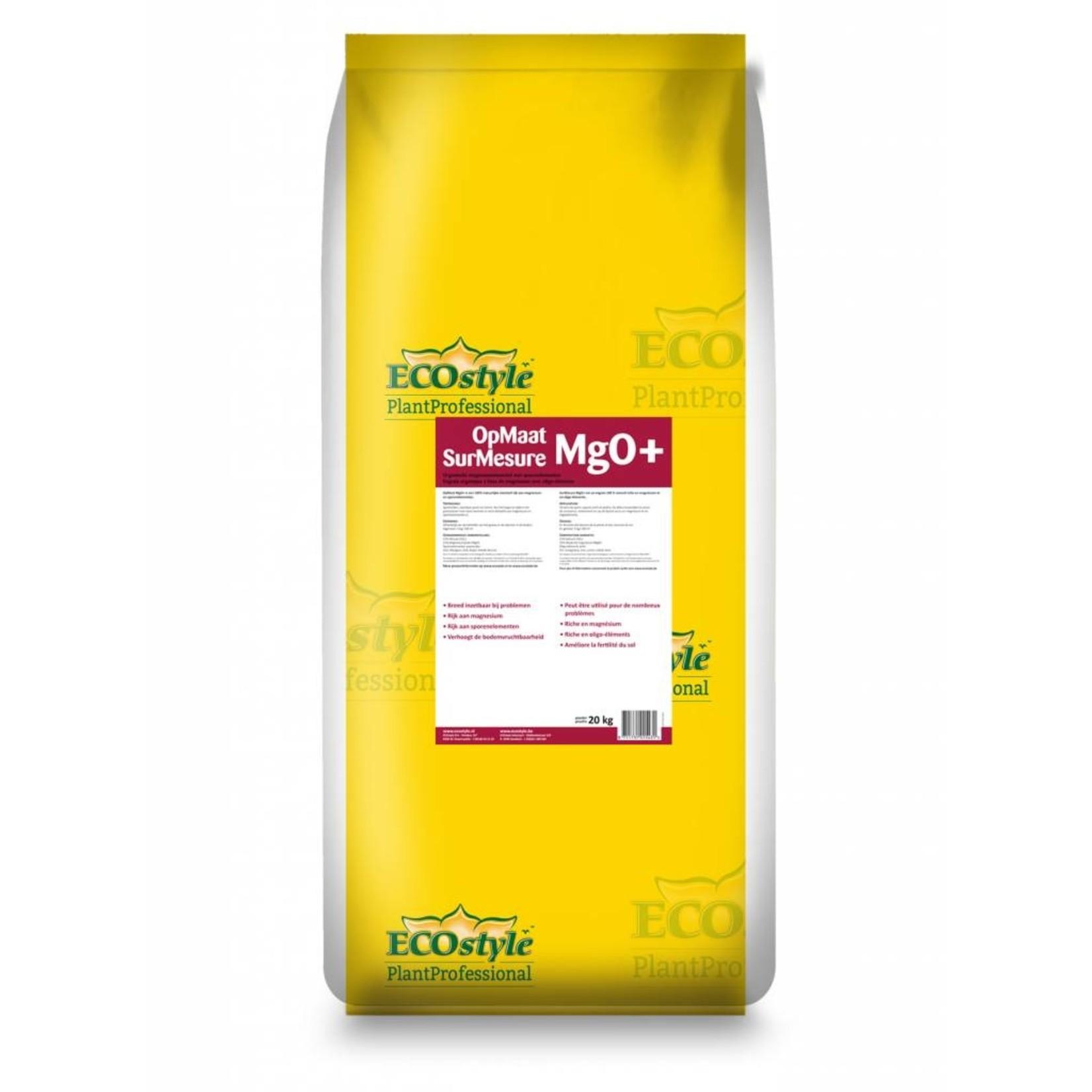 Ecostyle Professioneel OpMaat MgO+ 20 kg rijk aan magnesium en sporenelementen