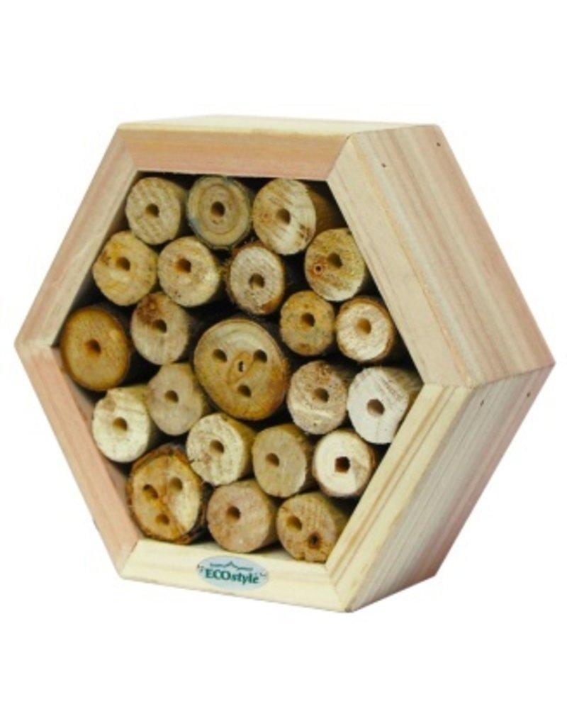 Ecostyle Insectenhotel voor metselbijen (honingraat)