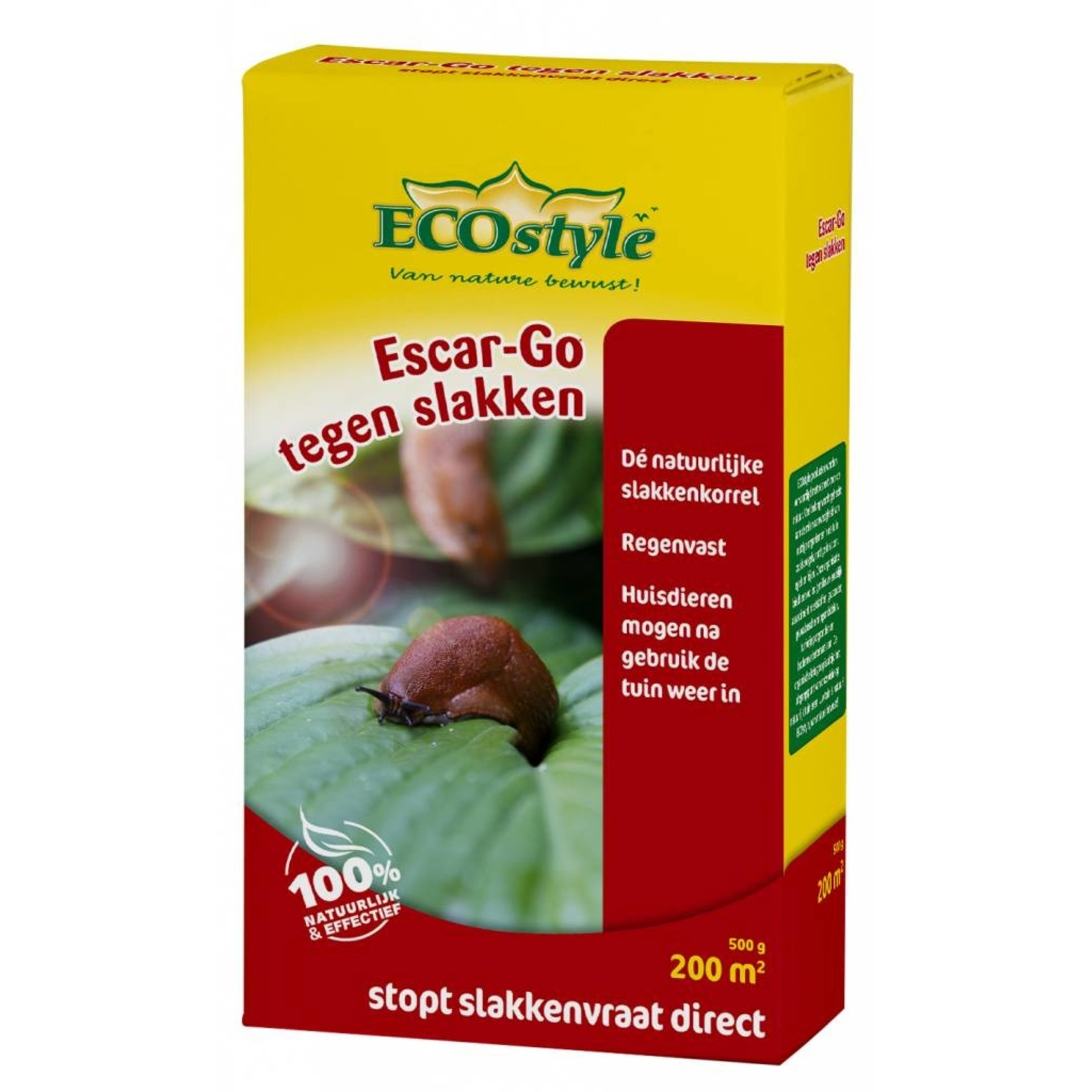 Ecostyle Escar-Go 500 gram tegen slakken (200 m2)
