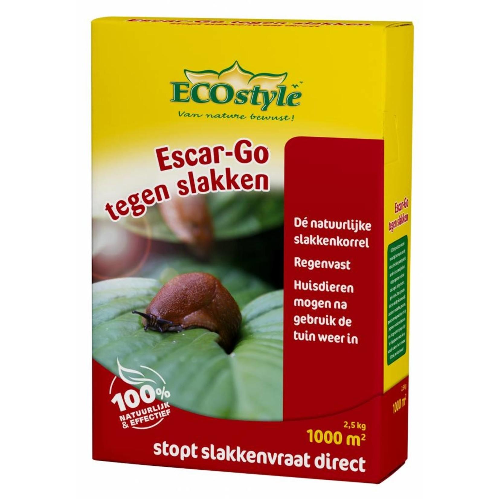 Ecostyle Escar-Go 2.5 kg  tegen slakken (1000 m2)
