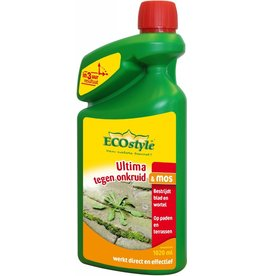 Ecostyle Ultima tegen onkruid & mos 1020 ml (concentraat)