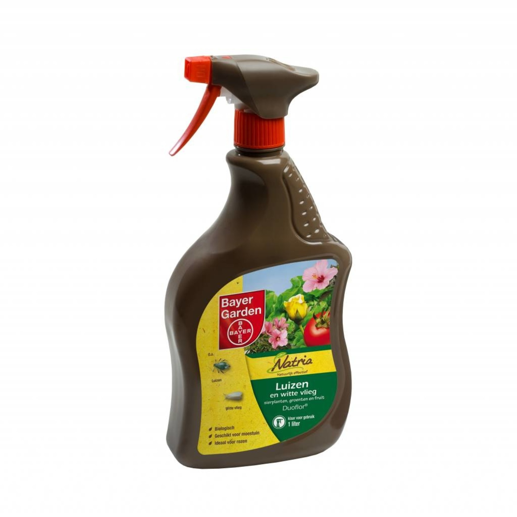 Bayer Garden Natria Duoflor spray tegen luizen en witte vlieg 1 Liter