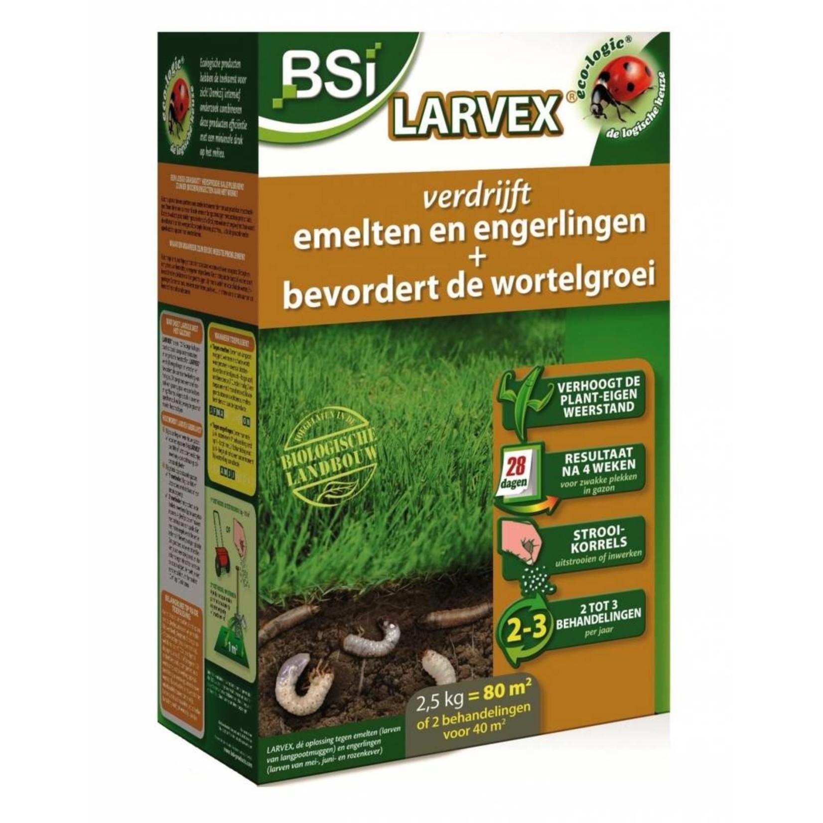 BSi Larvex 2,5 kg tegen engerlingen & emelten