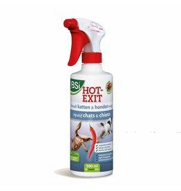 BSi Hot Exit Spray 500 ml katten- & hondenafweermiddel