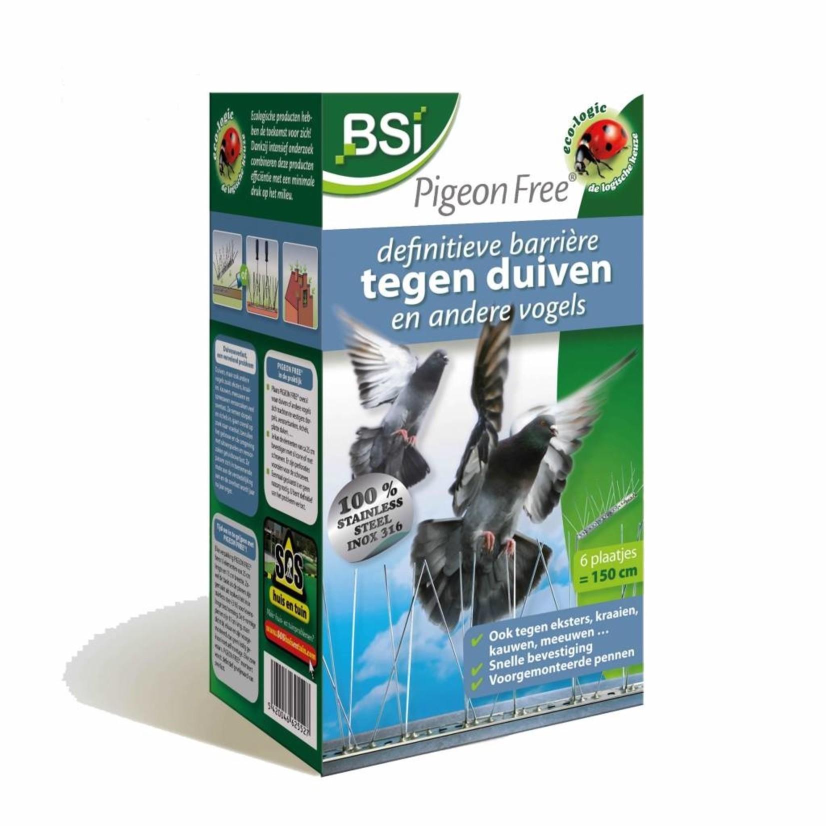 BSi Pigeon Free 6 elementen van 25 cm tegen gevogelte