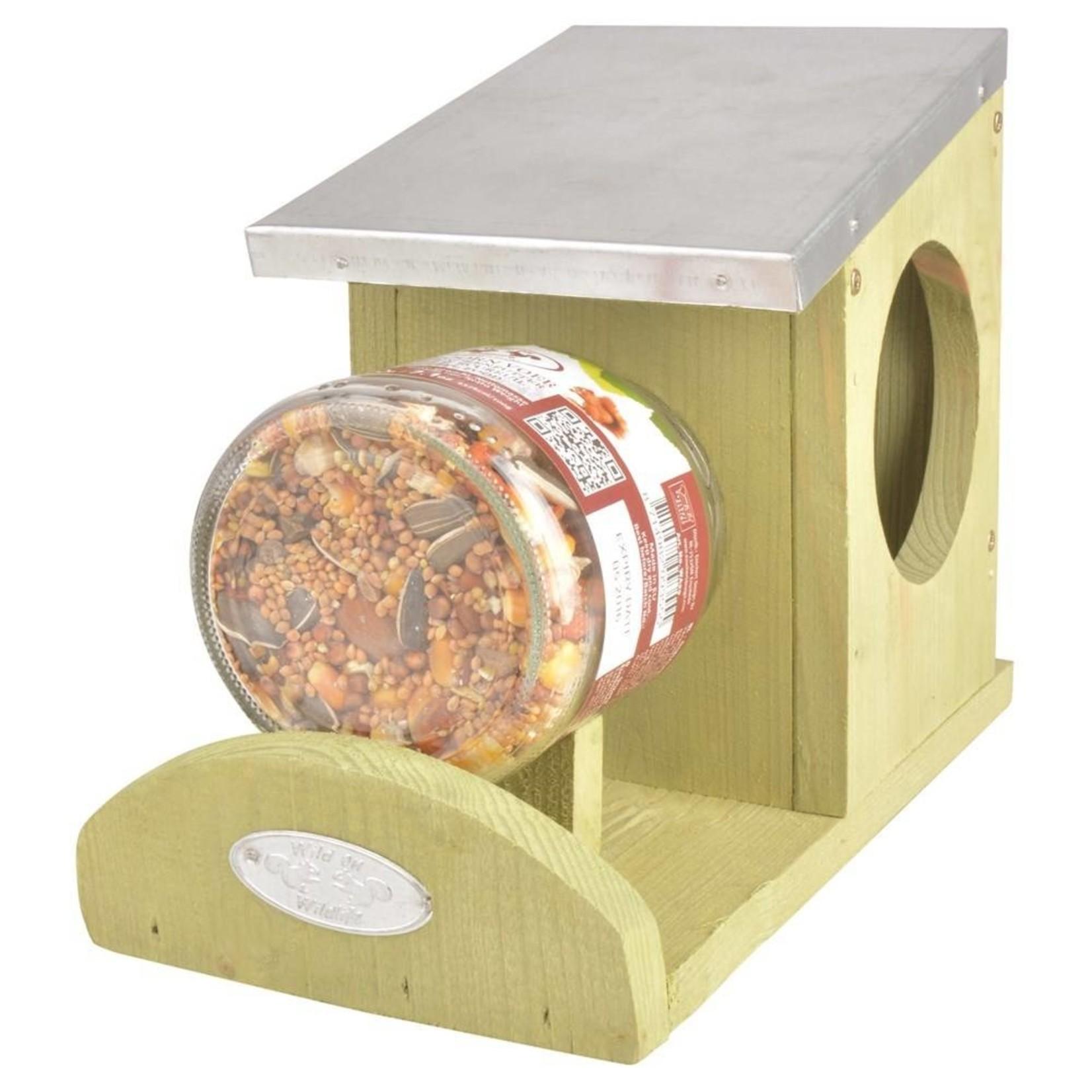 Esschert Eekhoorn pindakaas voerderhuis