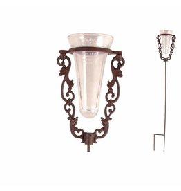 Esschert Regenmeter Glas met gietijzeren standaard