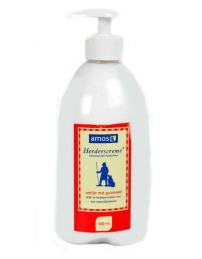 Amos Herderscreme flacon incl. handpomp 500 ml