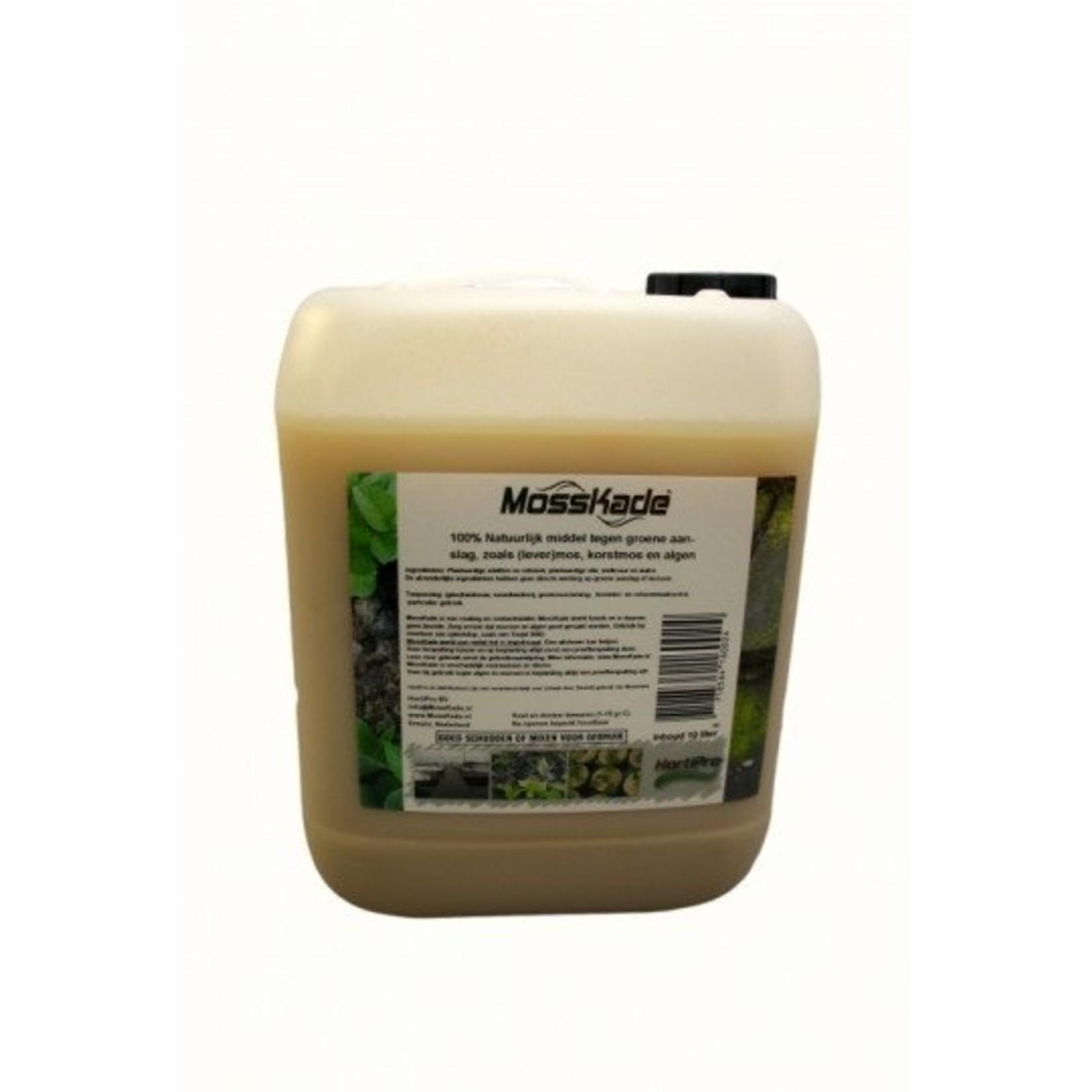 MossKade 5 liter (concentraat) tegen levermos, mos (ook in het gazon), korstmos en algen
