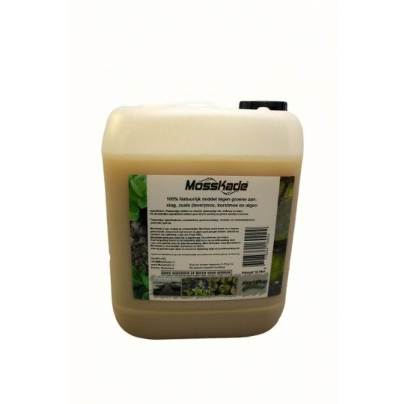 MossKade 20 liter (concentraat) tegen levermos, mos (ook in het gazon), korstmos en algen